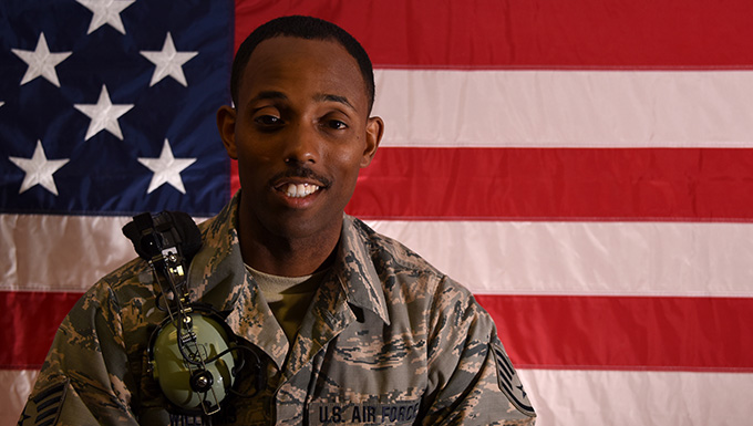 image of Staff Sgt. Sheldon Williams