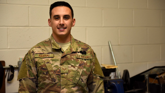 171st Air National Guardsman Receives Army Combat Action Badge